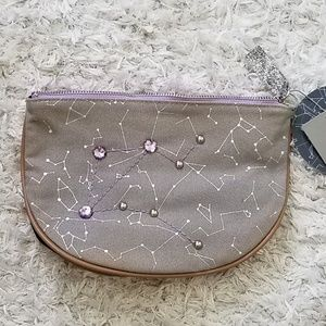 Libra Zip Sequin Cosmetic Anything Bag